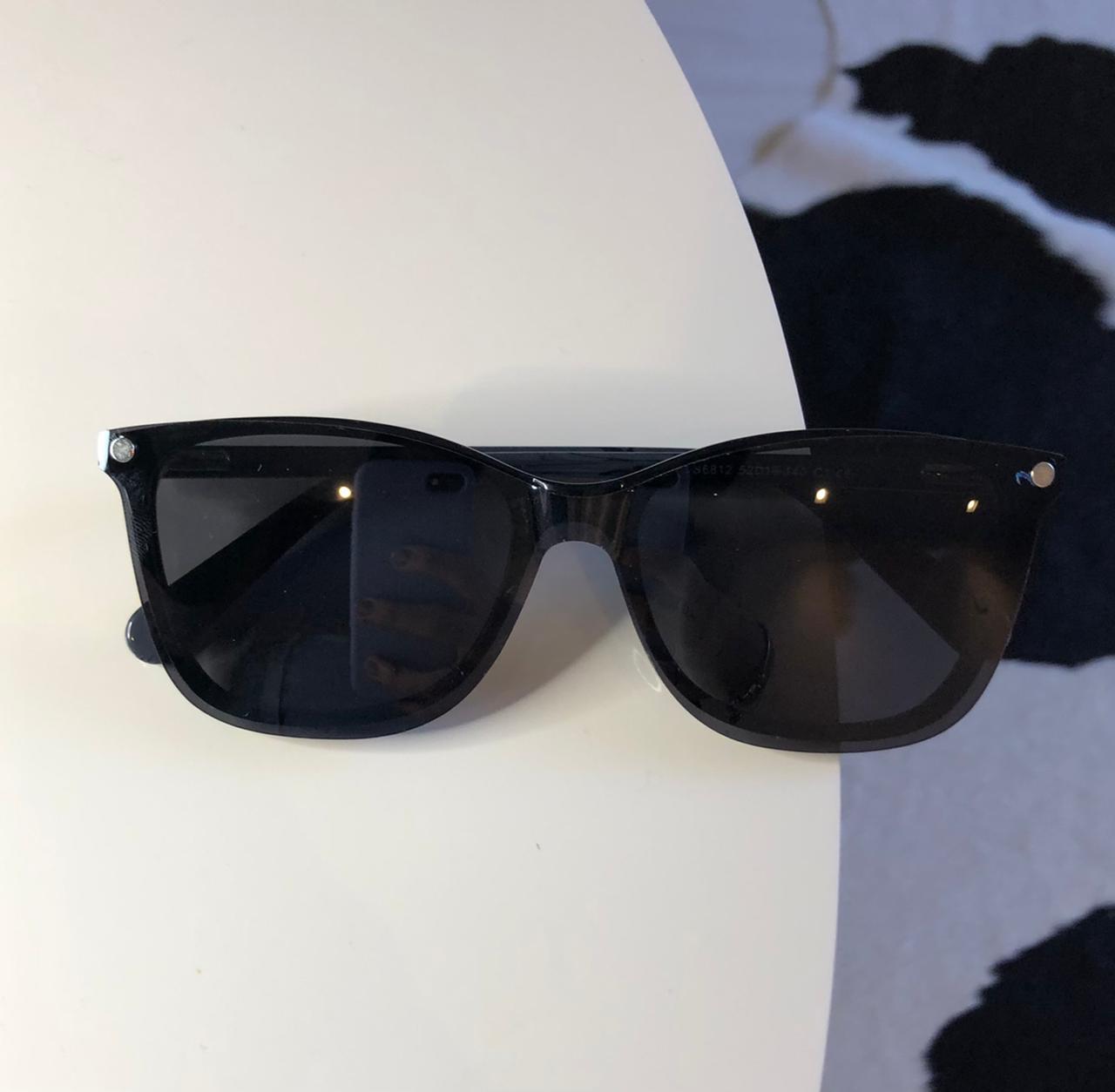 Óculos Clipon 2 em 1 Mari Preto