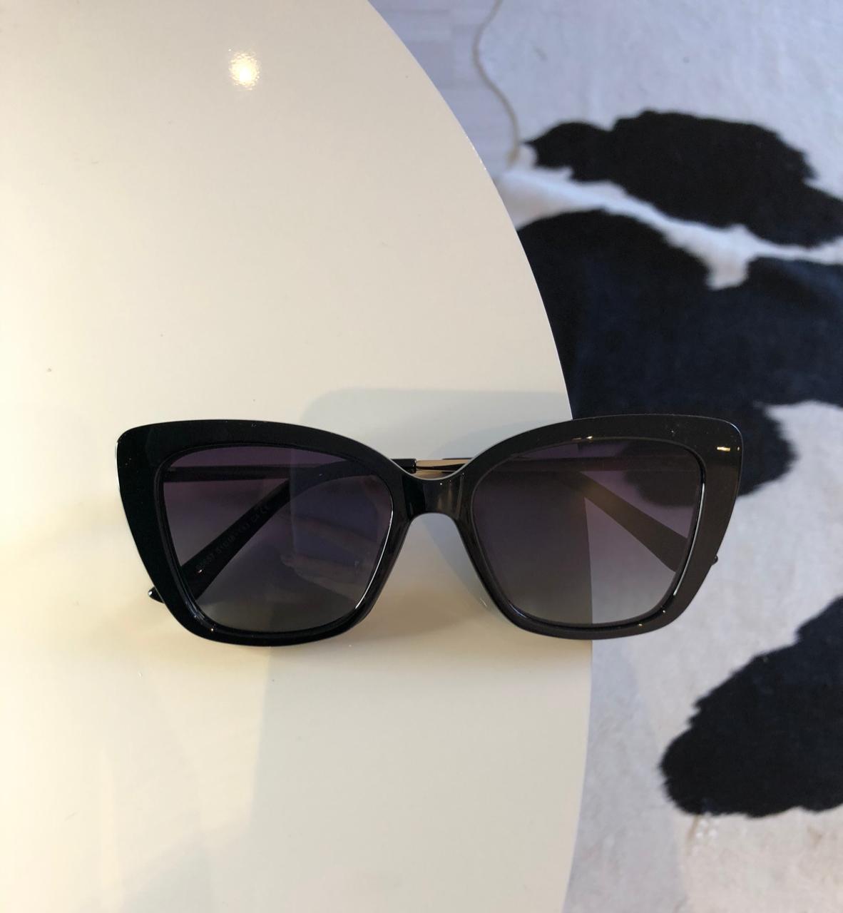 Óculos Clipon 2 em 1 Tácia Preto