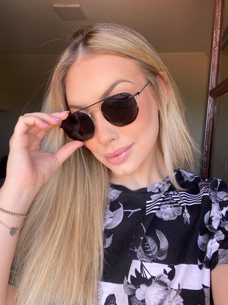 Óculos Clipon 2 em 1 Yasmin Prata