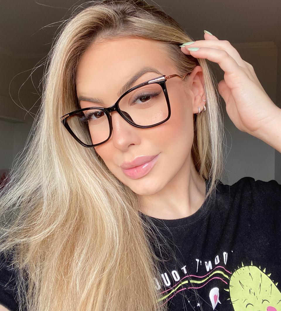 Oculos de Grau Helena Preto