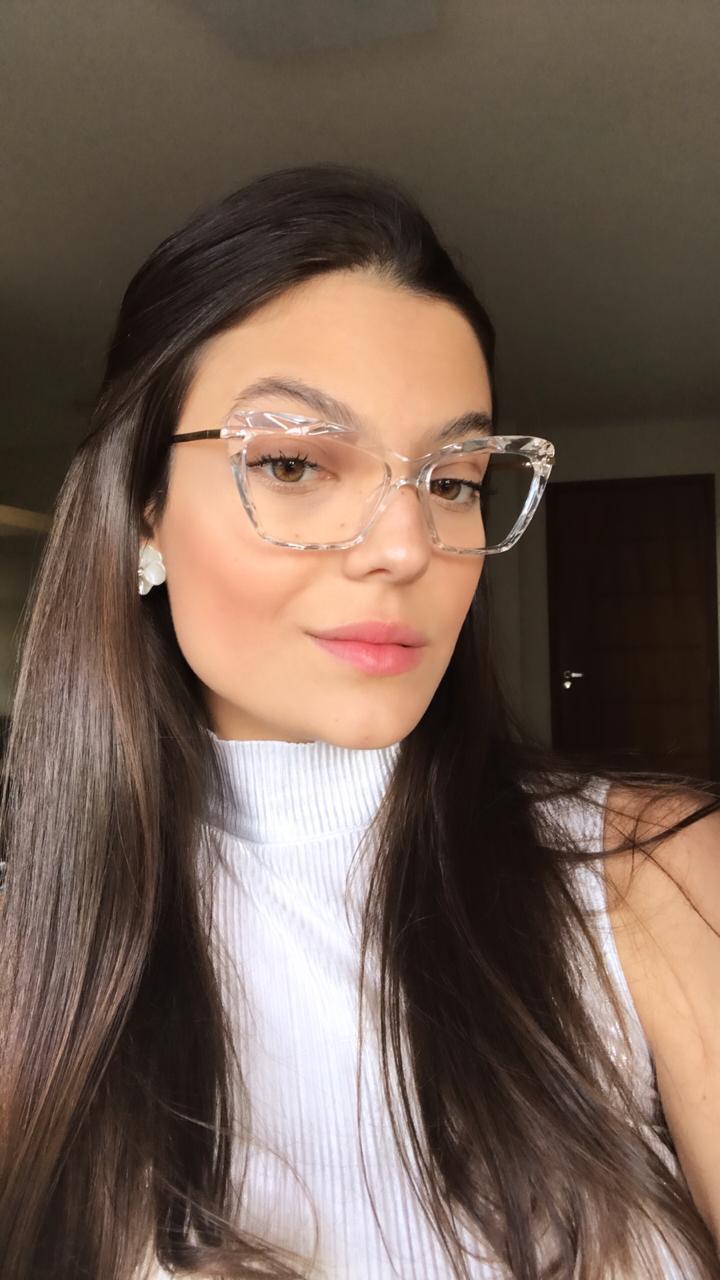Óculos de grau Nina Transparente