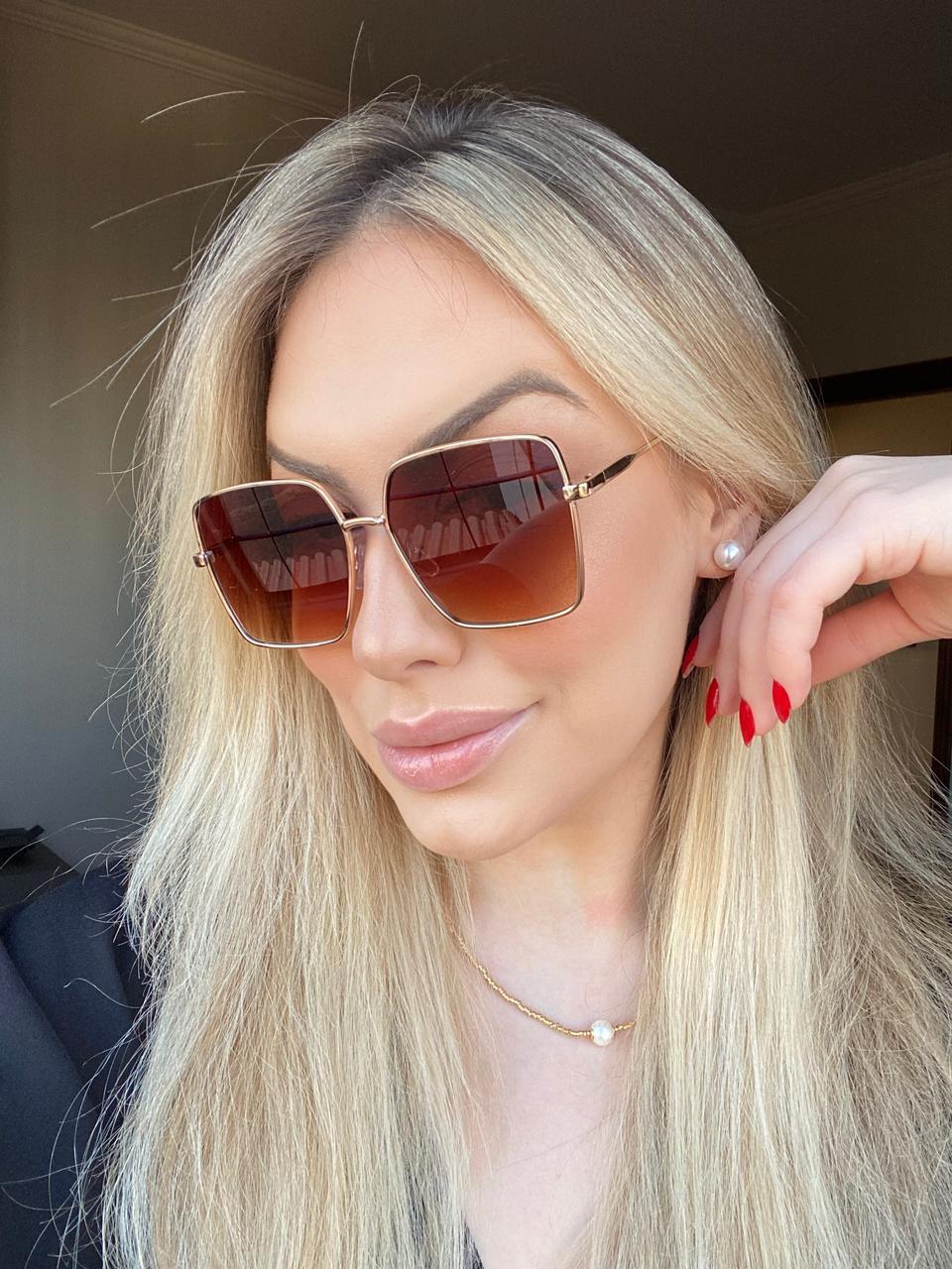 Óculos de Sol Feminino Gigi Proteção UV 400 - Millu Shop
