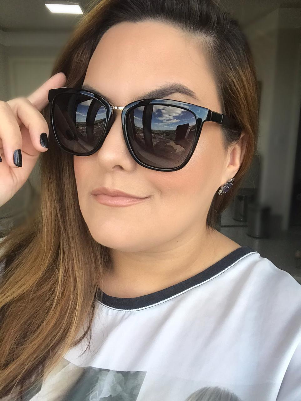 Óculos de sol Maya Preto