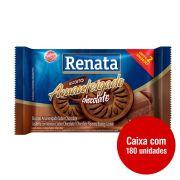 BISCOITO CHOCOLATE RENATA SACHÊ 9G CAIXA 180 UNIDADES