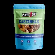 MIX CASTANHAS NUTS POWER ONE SACHÊ 25G CAIXA 15 UNIDADES