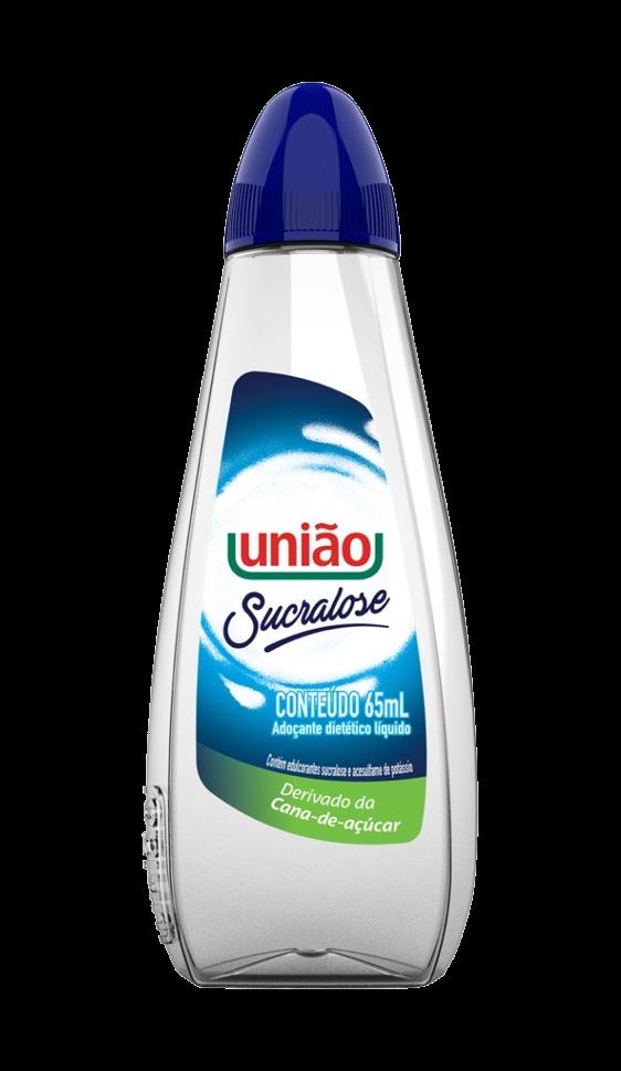 ADOÇANTE SUCRALOSE UNIÃO LÍQUIDO 65ML