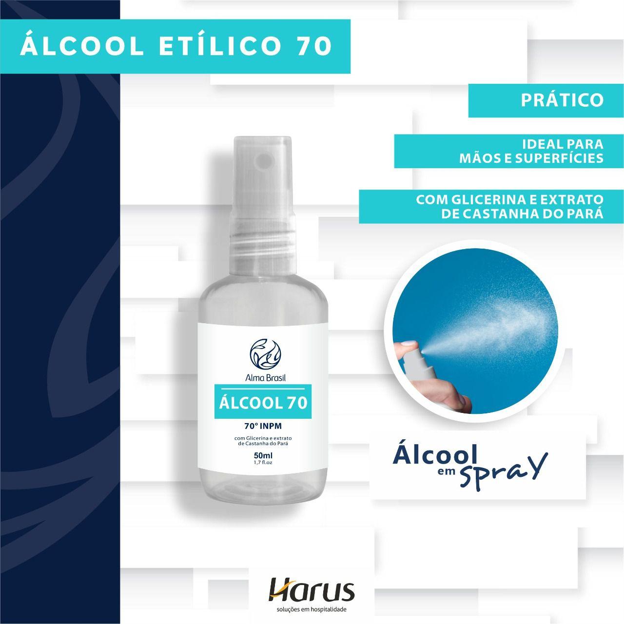 ÁLCOOL 70 HARUS SPRAY 50ML