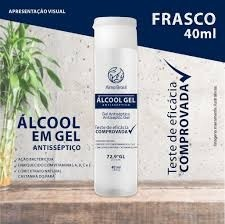 ÁLCOOL EM GEL HARUS FRASCO 40ML