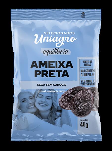 AMEIXA SEM CAROÇO UNIAGRO SACHÊ 40G