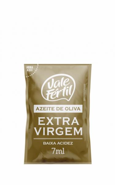 AZEITE DE OLIVA EXTRA VIRGEM VALE FÉRTIL SACHÊ 7ML 180 UNIDADES
