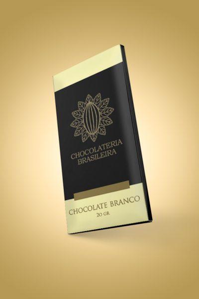 BARRA CHOCOLATE BRANCO CHOCOLATERIA BRASILEIRA 20G