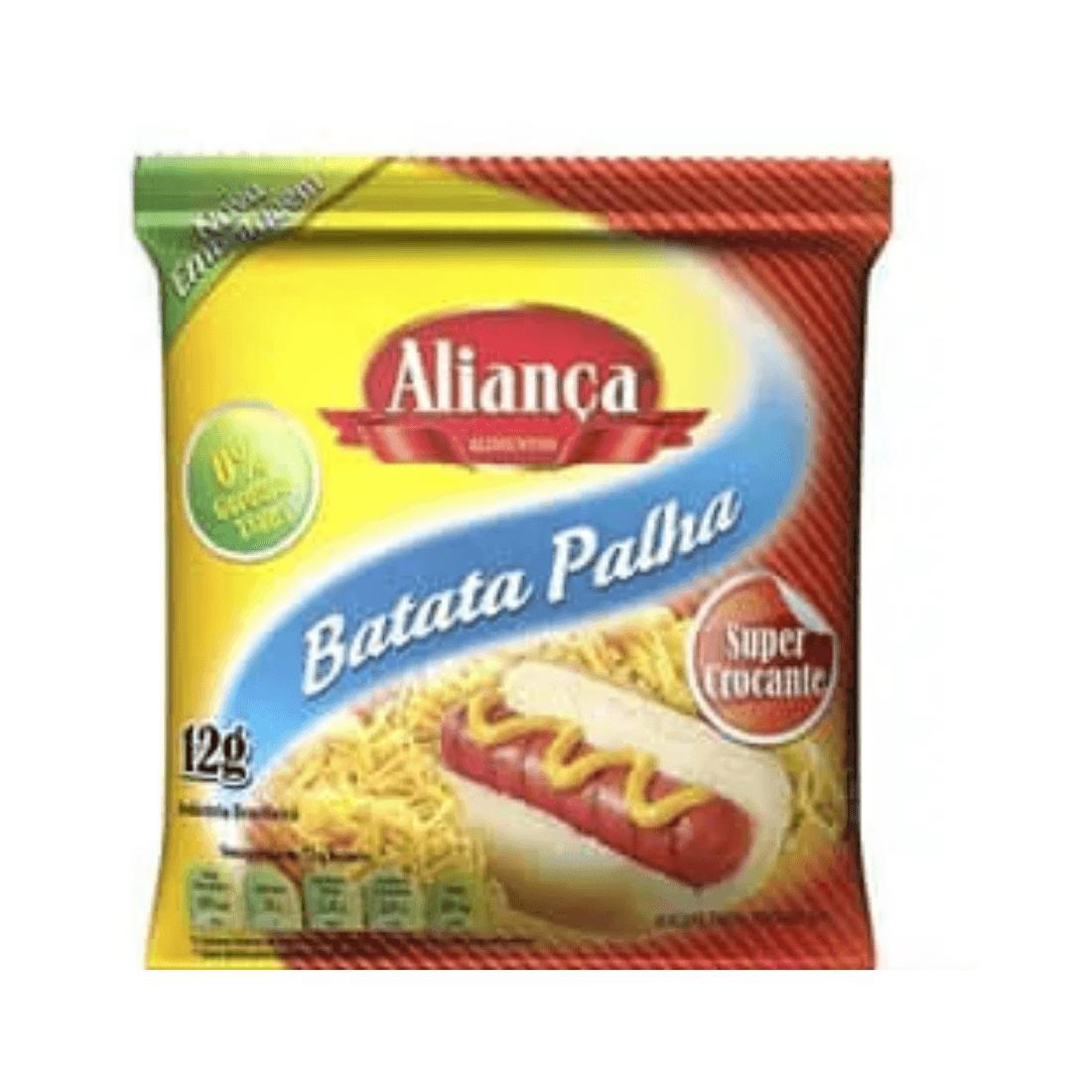 BATATA PALHA ALIANÇA SACHÊ 12G CAIXA 250 UNIDADES