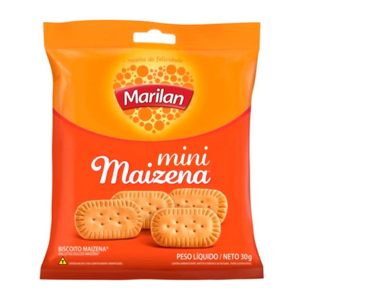 BISCOITO MINI MAIZENA MARILAN SACHÊ 30G