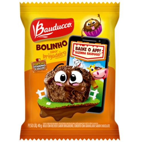BOLINHO BRIGADEIRO BAUDUCCO 30G 14UN