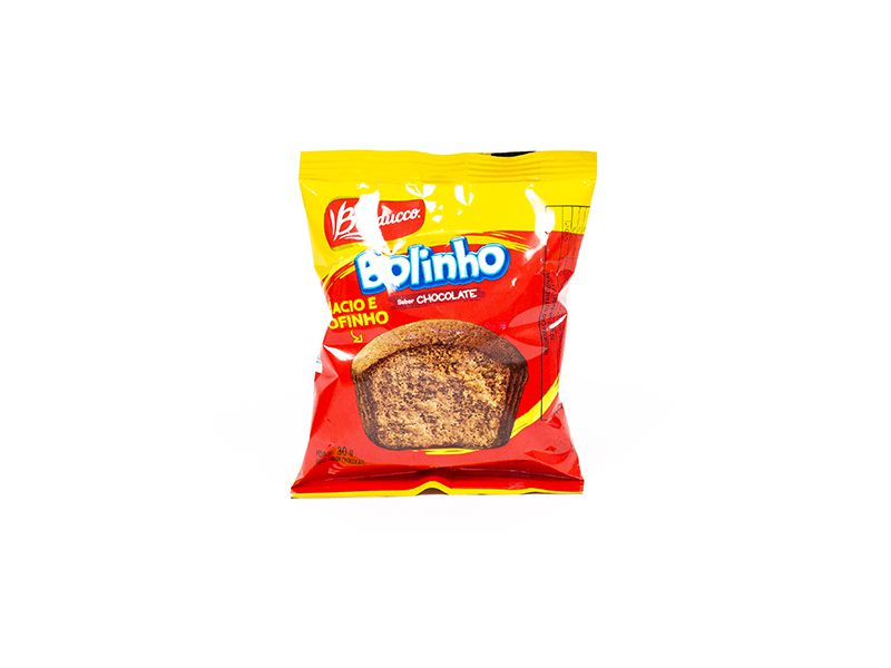BOLINHO CHOCOLATE BAUDUCCO 30G CAIXA 14 UNIDADES