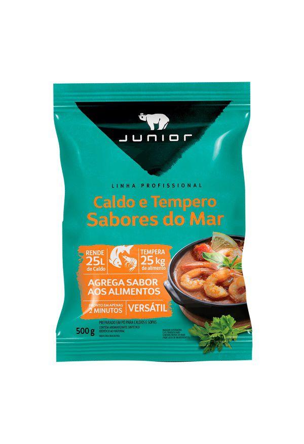 CALDO E TEMPERO SABORES DO MAR 500G