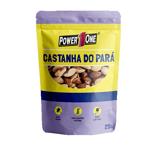 CASTANHA DO PARÁ POWER ONE SACHÊ 25G CAIXA 15 UNIDADES