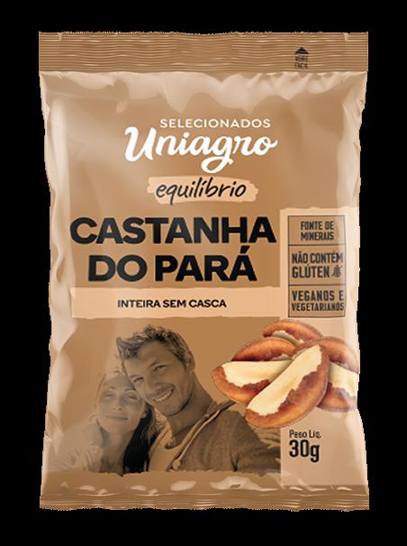 CASTANHA DO PARÁ UNIAGRO SACHÊ 30G
