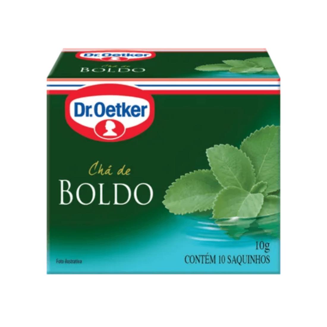 CHÁ BOLDO DR OETKER SACHÊ 10G CAIXA 15 UNIDADES