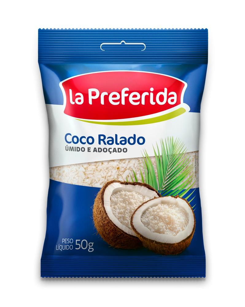 COCO RALADO ADOCADO LA PREFERIDA 50G
