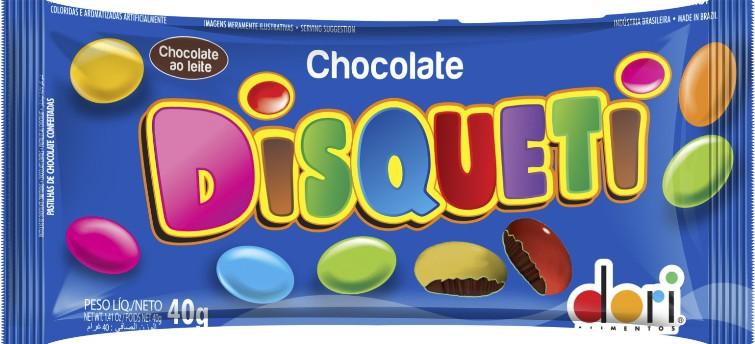 DISQUETI CHOCOLATE DORI SACHÊ 40G