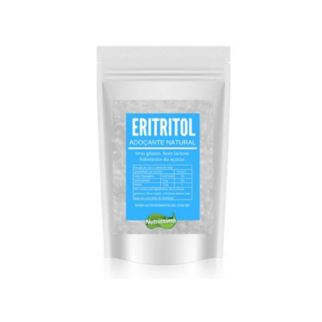 Eritritol Adoçante Natural Nutrissima 200g