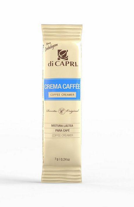LEITE EM PÓ CREMA CAFFE DI CAPRI SACHÊ 7G CAIXA 100 UNIDADES