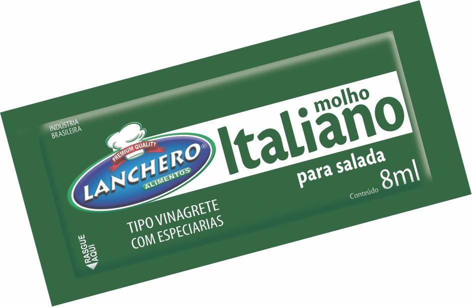 MOLHO ITALIANO LANCHERO SACHÊ 8ML CAIXA 152 UNIDADES