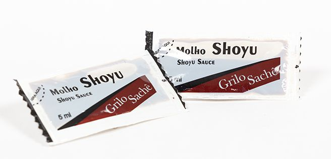 MOLHO SHOYU GRILO SACHÊ 5ML CAIXA 200 UNIDADES