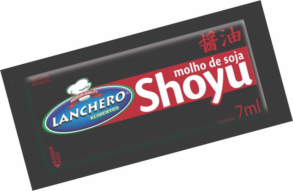 MOLHO SHOYU LANCHERO SACHÊ 7ML CAIXA 176 UNIDADES