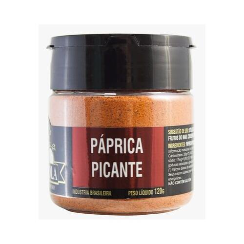 Páprica Picante Premuim 180g Temperola Tempero Gourmet