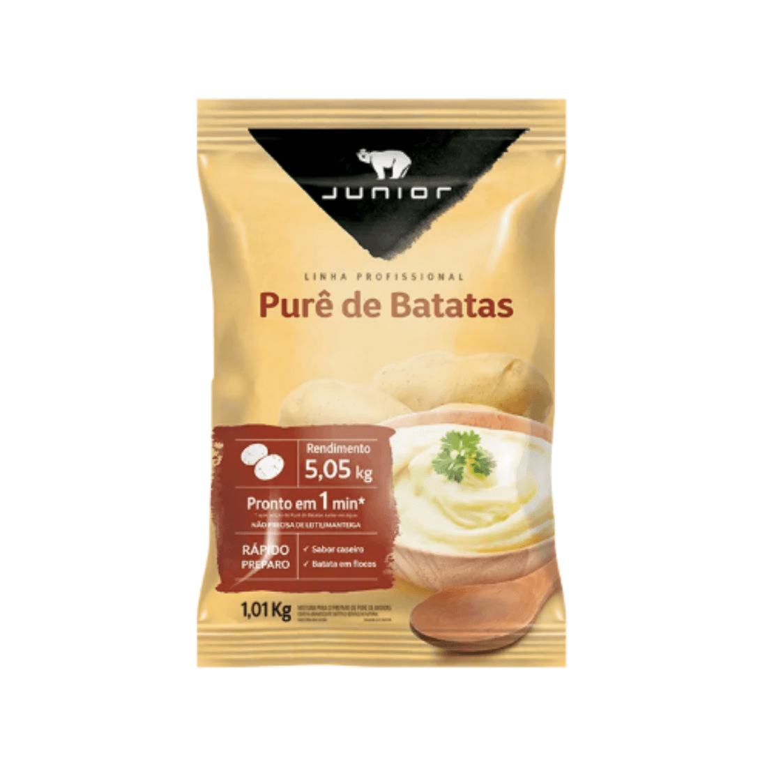 PURÊ DE BATATA JUNIOR 1KG