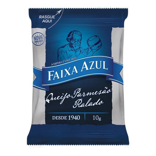 QUEIJO PARMESÃO RALADO FAIXA AZUL SACHÊ 10G