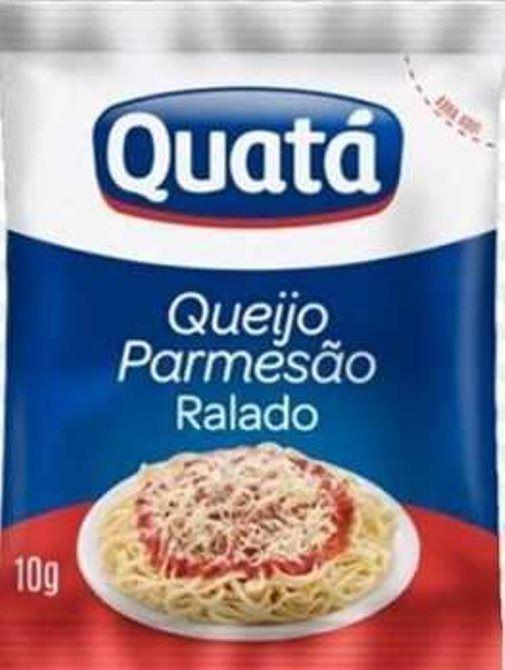 QUEIJO PARMESÃO RALADO QUATÁ SACHÊ 10G CAIXA 50 UNIDADES