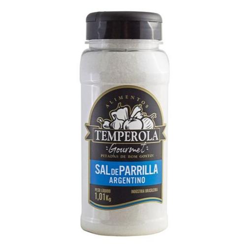 Sal de Parrilla Argentino Churrasco Entrefino Temperola Gourmet 1Kg
