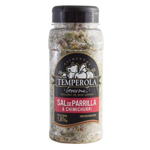 Sal de Parrilla Churrasco Entrefino Com Chimichurri Temperola Gourmet 1Kg