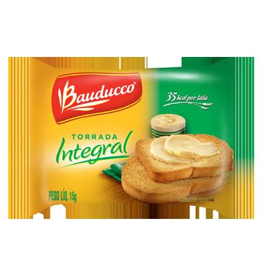 TORRADA INTEGRAL BAUDUCCO SACHÊ 15G CAIXA 30 UNIDADES