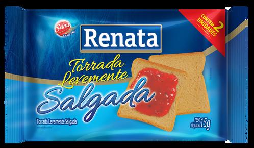 TORRADA TRADICIONAL RENATA SACHÊ 15G CAIXA 20 UNIDADES