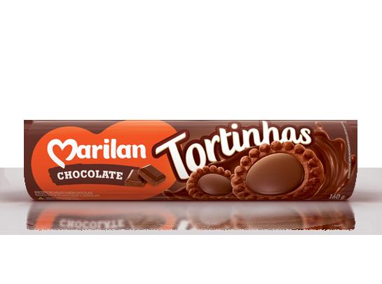 TORTINHA CHOCOLATE MARILAN 160G