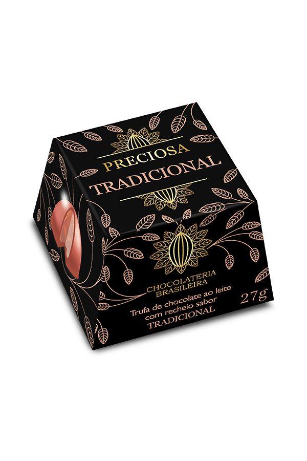 TRUFA TRADICIONAL CHOCOLATERIA BRASILEIRA 27G