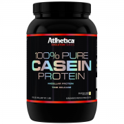 100% PURE CASEIN PROTEIN 900 g - ATLHETICA NUTRITION