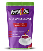 CHA MATE SOLÚVEL 100G - POWER ONE