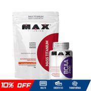 COMBO MAX - MASS TITANIUM + BCAA MAX