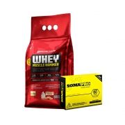 KIT MONSTRO - WHEY MUSCLE HAMMER + SOMAPRO