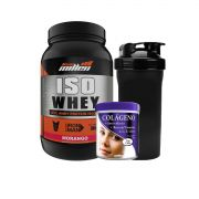 COMBO ISO WHEY EXCEL + COLLAGEM PÓ + COQUETELEIRA (BRINDE)