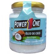ÓLEO DE COCO - 200ML - POWER ONE