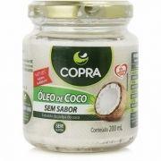 OLEO DE COCO SEM SABOR 200ml -COPRA