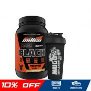 PROTEIN BLACK PREMIUM 840G - NEW MILLEN + COQUETELEIRA SIMPLES (BRINDE)