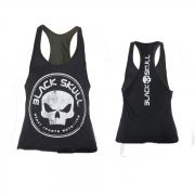 REGATA BODY BUILDER PRETA - BLACK SKULL