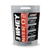 WHEY 3W NITRO - 1,8 Kg STAND POUCHE COOKIES AND CREAM NEW MILLEN
